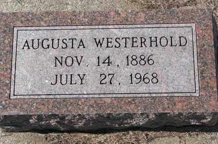 WESTERHOLD, AUGUSTA - Cuming County, Nebraska   AUGUSTA WESTERHOLD - Nebraska Gravestone Photos