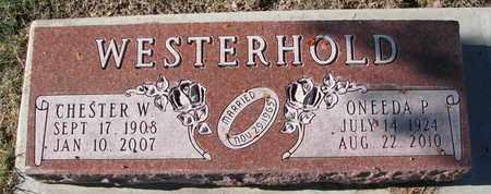 WESTERHOLD, CHESTER W. - Cuming County, Nebraska | CHESTER W. WESTERHOLD - Nebraska Gravestone Photos