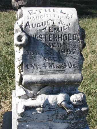 WESTERHOLD, ETHEL - Cuming County, Nebraska | ETHEL WESTERHOLD - Nebraska Gravestone Photos
