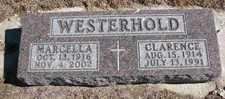WESTERHOLD, CLARENCE - Cuming County, Nebraska   CLARENCE WESTERHOLD - Nebraska Gravestone Photos