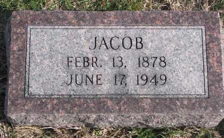 WHITE, JACOB - Cuming County, Nebraska | JACOB WHITE - Nebraska Gravestone Photos
