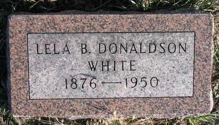 WHITE, LELA B. - Cuming County, Nebraska | LELA B. WHITE - Nebraska Gravestone Photos
