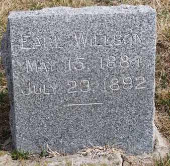 WILLSON, EARL - Cuming County, Nebraska | EARL WILLSON - Nebraska Gravestone Photos