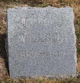 WILLSON, LEROY - Cuming County, Nebraska | LEROY WILLSON - Nebraska Gravestone Photos