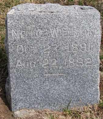 WILLSON, NELLIE - Cuming County, Nebraska | NELLIE WILLSON - Nebraska Gravestone Photos