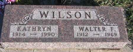 WILSON, KATHRYN - Cuming County, Nebraska | KATHRYN WILSON - Nebraska Gravestone Photos