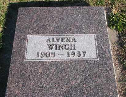WINCH, ALVENA - Cuming County, Nebraska   ALVENA WINCH - Nebraska Gravestone Photos