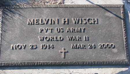 WISCH, MELVIN H. - Cuming County, Nebraska | MELVIN H. WISCH - Nebraska Gravestone Photos