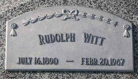WITT, RUDOLPH - Cuming County, Nebraska   RUDOLPH WITT - Nebraska Gravestone Photos