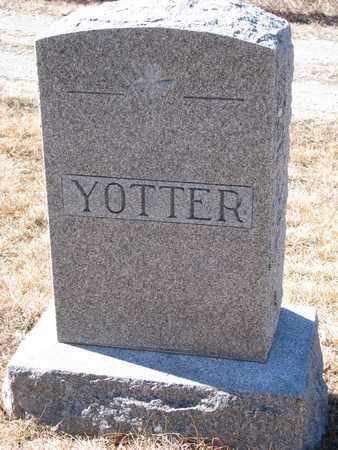 YOTTER, (FAMILY MONUMENT) - Cuming County, Nebraska | (FAMILY MONUMENT) YOTTER - Nebraska Gravestone Photos