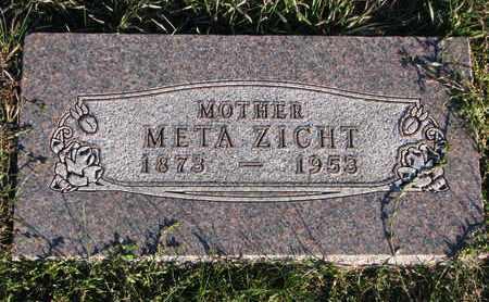 ZICHT, META - Cuming County, Nebraska   META ZICHT - Nebraska Gravestone Photos