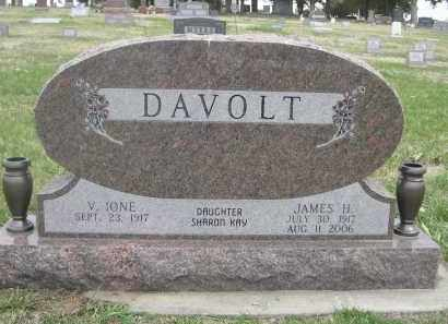 DAVOLT, JAMES H. - Custer County, Nebraska | JAMES H. DAVOLT - Nebraska Gravestone Photos