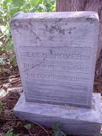 HOVER, ELSIE - Custer County, Nebraska | ELSIE HOVER - Nebraska Gravestone Photos