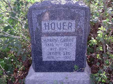 HOVER, HARRY GRANT - Custer County, Nebraska   HARRY GRANT HOVER - Nebraska Gravestone Photos