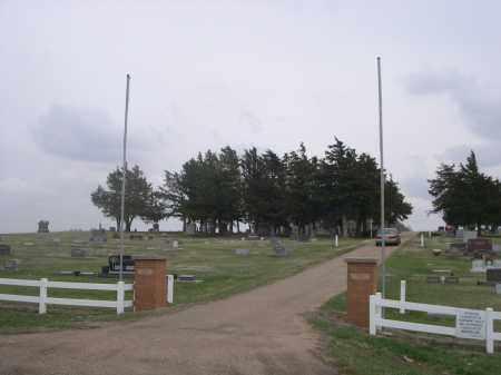 *MERNA CEMETERY, ENTRANCE TO - Custer County, Nebraska | ENTRANCE TO *MERNA CEMETERY - Nebraska Gravestone Photos