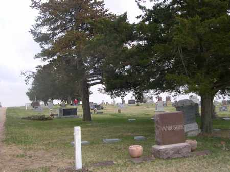 *MERNA CEMETERY, VIEW OF - Custer County, Nebraska | VIEW OF *MERNA CEMETERY - Nebraska Gravestone Photos