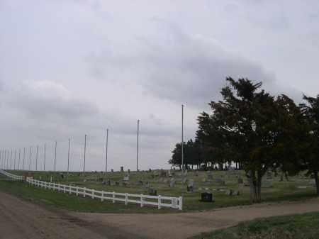 *MERNA CEMETERY, VIEW OF - Custer County, Nebraska | VIEW OF *MERNA CEMETERY - Nebraska Gravestone Photos