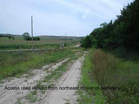 *SELLS VALEY, ACCESS ROAD - Custer County, Nebraska   ACCESS ROAD *SELLS VALEY - Nebraska Gravestone Photos