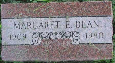 BEAN, MARGARET E. - Dakota County, Nebraska | MARGARET E. BEAN - Nebraska Gravestone Photos
