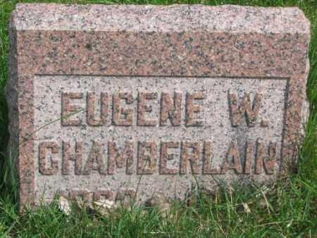 CHAMBERLAIN, EUGENE W. - Dakota County, Nebraska | EUGENE W. CHAMBERLAIN - Nebraska Gravestone Photos