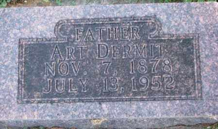 DERMIT, ART - Dakota County, Nebraska | ART DERMIT - Nebraska Gravestone Photos