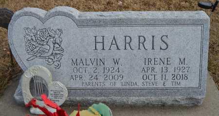 HARRIS, IRENE M. - Dakota County, Nebraska | IRENE M. HARRIS - Nebraska Gravestone Photos