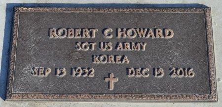 HOWARD, ROBERT C. (MILITARY) - Dakota County, Nebraska | ROBERT C. (MILITARY) HOWARD - Nebraska Gravestone Photos