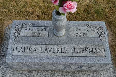 HUFFMAN, LAURA LAVERLE - Dakota County, Nebraska | LAURA LAVERLE HUFFMAN - Nebraska Gravestone Photos