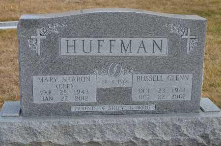 HUFFMAN, RUSSELL GLENN - Dakota County, Nebraska | RUSSELL GLENN HUFFMAN - Nebraska Gravestone Photos