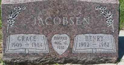 JACOBSEN, HENRY - Dakota County, Nebraska | HENRY JACOBSEN - Nebraska Gravestone Photos