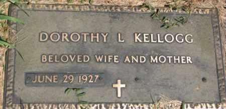 KELLOGG, DOROTHY L. - Dakota County, Nebraska   DOROTHY L. KELLOGG - Nebraska Gravestone Photos