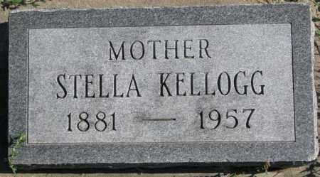 KELLOGG, STELLA - Dakota County, Nebraska | STELLA KELLOGG - Nebraska Gravestone Photos
