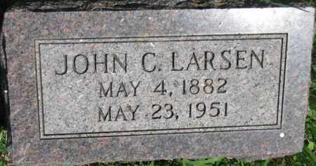 LARSEN, JOHN C. - Dakota County, Nebraska | JOHN C. LARSEN - Nebraska Gravestone Photos
