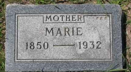 LARSEN, MARIE - Dakota County, Nebraska | MARIE LARSEN - Nebraska Gravestone Photos