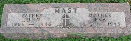 MAST, EVA - Dakota County, Nebraska   EVA MAST - Nebraska Gravestone Photos