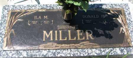 MILLER, DONALD H. - Dakota County, Nebraska | DONALD H. MILLER - Nebraska Gravestone Photos