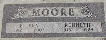MOORE, EILEEN - Dakota County, Nebraska | EILEEN MOORE - Nebraska Gravestone Photos