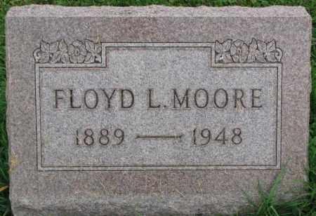 MOORE, FLOYD L. - Dakota County, Nebraska | FLOYD L. MOORE - Nebraska Gravestone Photos