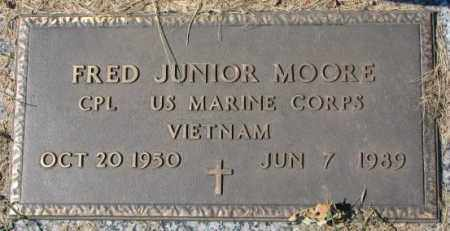 MOORE, FRED JR. - Dakota County, Nebraska | FRED JR. MOORE - Nebraska Gravestone Photos