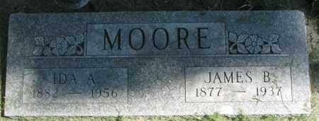 MOORE, JAMES B. - Dakota County, Nebraska | JAMES B. MOORE - Nebraska Gravestone Photos