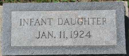 NELSEN, INFANT DAU - Dakota County, Nebraska   INFANT DAU NELSEN - Nebraska Gravestone Photos