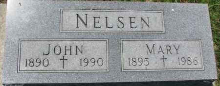 NELSEN, MARY - Dakota County, Nebraska | MARY NELSEN - Nebraska Gravestone Photos