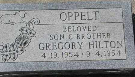 OPPELT, GREGORY HILTON - Dakota County, Nebraska | GREGORY HILTON OPPELT - Nebraska Gravestone Photos