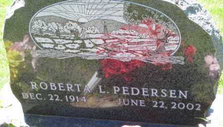PEDERSEN, ROBERT L. - Dakota County, Nebraska | ROBERT L. PEDERSEN - Nebraska Gravestone Photos
