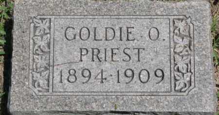 PRIEST, GOLDIE O. - Dakota County, Nebraska | GOLDIE O. PRIEST - Nebraska Gravestone Photos