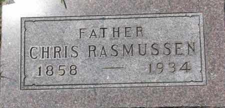 RASMUSSEN, CHRIS - Dakota County, Nebraska | CHRIS RASMUSSEN - Nebraska Gravestone Photos
