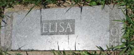 RASMUSSEN, ELISA - Dakota County, Nebraska   ELISA RASMUSSEN - Nebraska Gravestone Photos