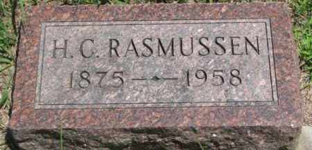 RASMUSSEN, H.C. - Dakota County, Nebraska | H.C. RASMUSSEN - Nebraska Gravestone Photos