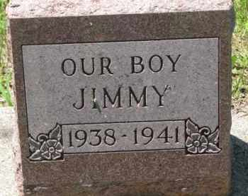 RASMUSSEN, JIMMY - Dakota County, Nebraska | JIMMY RASMUSSEN - Nebraska Gravestone Photos