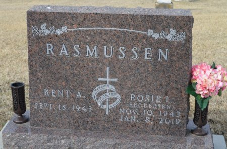 RASMUSSEN, ROSIE L. - Dakota County, Nebraska | ROSIE L. RASMUSSEN - Nebraska Gravestone Photos